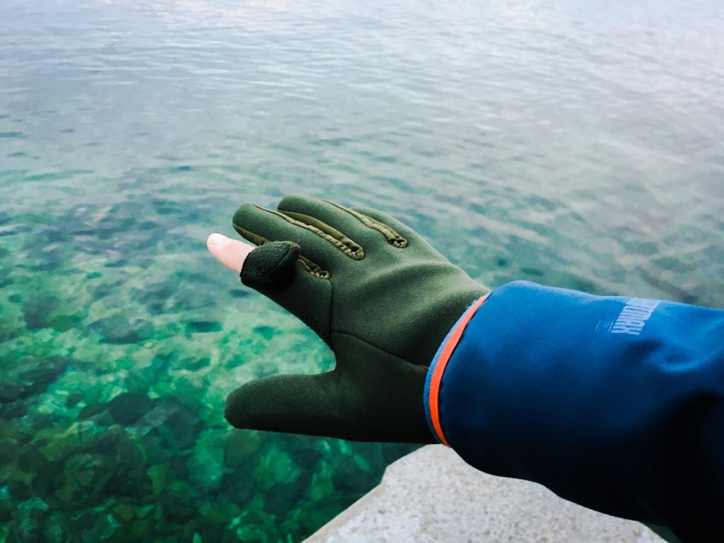 Solognac rukavice za lignjolov